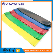 HM high quality Fitness Yoga Elastic Resistance Band Custom Resistance Exercise Band loop 5 Level