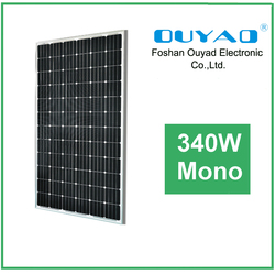 340w solar panel mono good price for home appliance