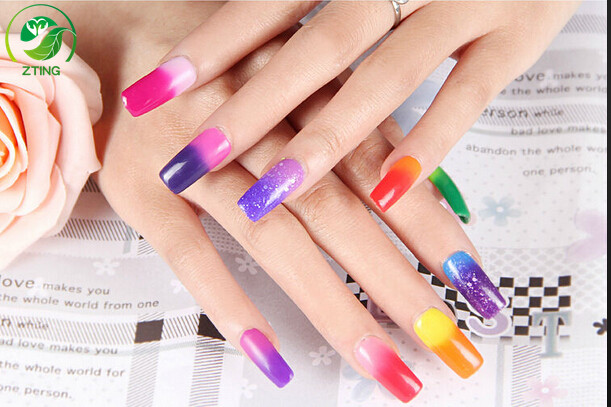 China Supplier temperature color change uv gel polish magic gel color