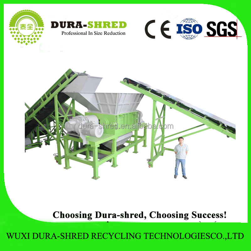 2015 Used Tire Shredder Machine in Tyre Recycling Plant for Rubber Chips