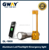 latest rechargeable led lamp portable led torch flashlight emergency light led flashlight