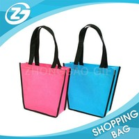 Supply Good Eco Material 120gsm folding non-woven fabric gift bag
