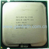 Intel processor CPU E7400(SLGW3/SLB9Y) 2.8GHz/1066MHz/3MB