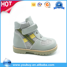 Soft Shoes Sole Leather Material Upper New Model Kids Shoes Girls