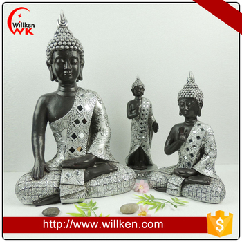 Classical design polyresin thailand wholesale buddha