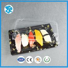 XJT09 plastic food packaging containers blister tray sushi box