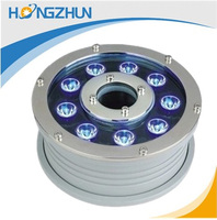 ip68 Stainless steel security 9w led underwater light