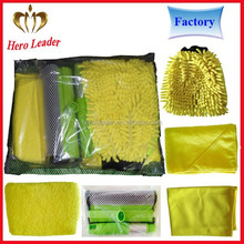 China factory lint free microfiber car wash cloth