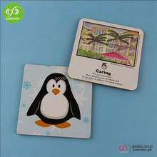 Factory production high quality MDF coasters cork with tourist souvenir