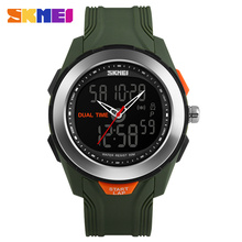 brand skmei dual time mens watches jam tangan