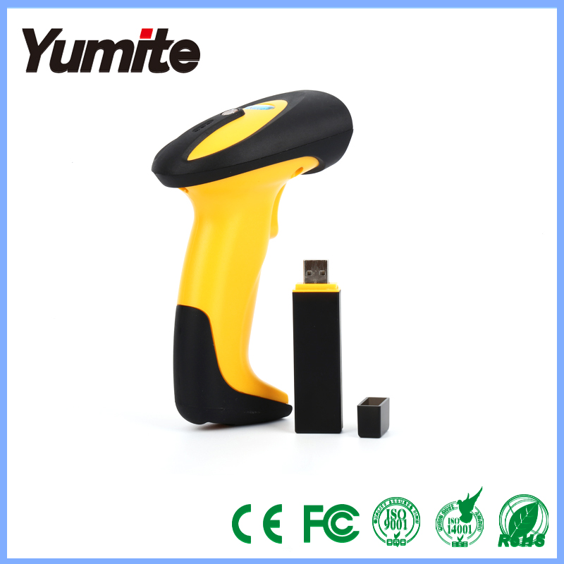 433MHZ Wireless cheap barcode scanner for supermarket