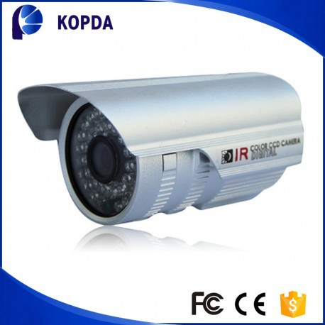 Auto manual 6/8mm optional lens IP 66 bullet ir rohs ccd camera