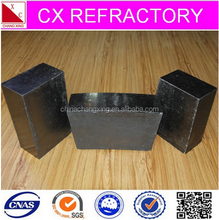 Low price high refractoriness magnesia carbon brick for ladle and EAF