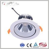 ce saa 6 inch cut out warm white led lights drop ceiling recessed