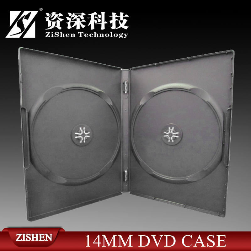 Plastic Black Dvd Case