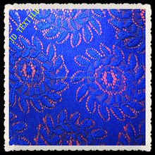 new design fashion mesh lace fabric for garment embroidered fabric