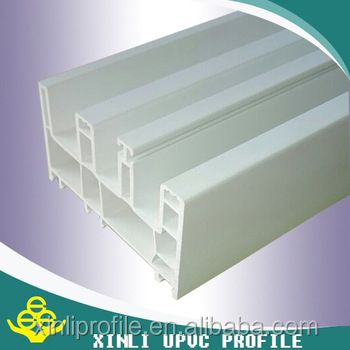 white color plastic pvc window&door pvc profiles