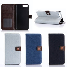 Low MOQ Cow Style PU Leather Wallet Phone Case for iPhone 7 Plus, Samples Available