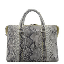 Heyco custom python genuine leather skin man business laptop handbag