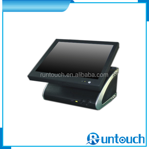 Runtouch RT-6100A Special for Retail & Hospitality Industry 15 inch Touch EPOS All-in-One Fanlesss Dual Core 1.86GHz POS System