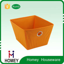 2015 Manufactory good quality Christmas foldable fabric storage box for ornament