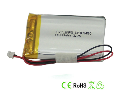 Prismatic Battery li-polymer 3.7v 1800mah li-ion polymer battery, 3.7v 1800mah 6.66wh lithium polymer lipo battery cells