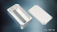Optical electrical terminal block junction box