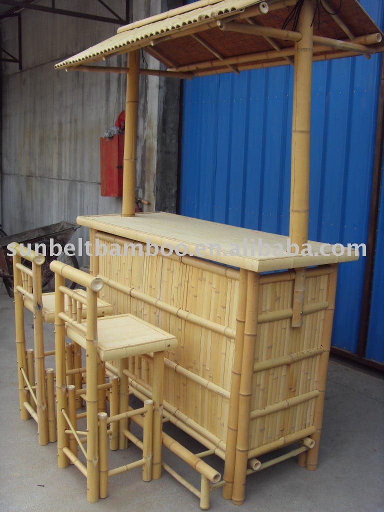 Bar en bambou soleil 003 autres meubles pliants id de for Meubles en bambou