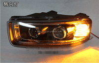 DLAND CAPTIVA ANGEL EYE COMPLETE HEADLIGHT, WITH YELLOW TURN SIGNAL AND BI-XENON PROJECTOR FOR CHEVROLET