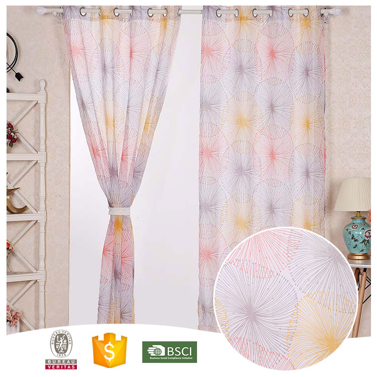 Newest Design Smart organza window curtains 10 Years Experience organza curtains