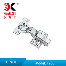 XiaoBoShi F208 Stainless Steel Furniture Hinge Fixed Mounted - Big Bend High Quality