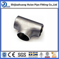 ASME standard stainless steel equal tee sch40 made in china