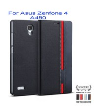 Book Flip Leather Wallet Case Cover Card Holder Stand for Asus Zenfone 4 A450