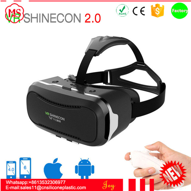 Best price vr shinecon 3d glasses, video 3d vr glasses price for smartphone