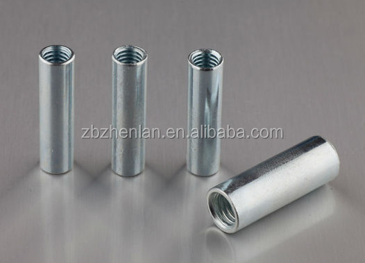 long coupling nut/joint furniture connector nut for threaded rod/din6334