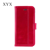 Painting oil pu flip leather case protective phone cover for Huawei Mate 8