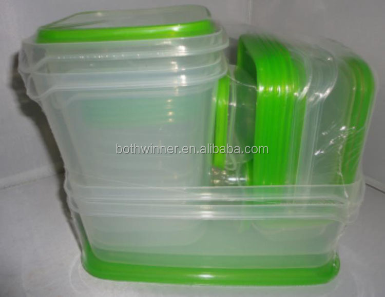 Food preserving box kitchen fridge crisper h0tsN hard plastic lunch box with handle for sale
