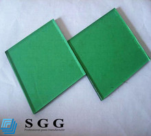 Factory supplier 12mm dark green tinted tempered glass panel