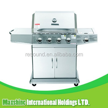CE approved garden use grill, stainless grill, bbq gas grill