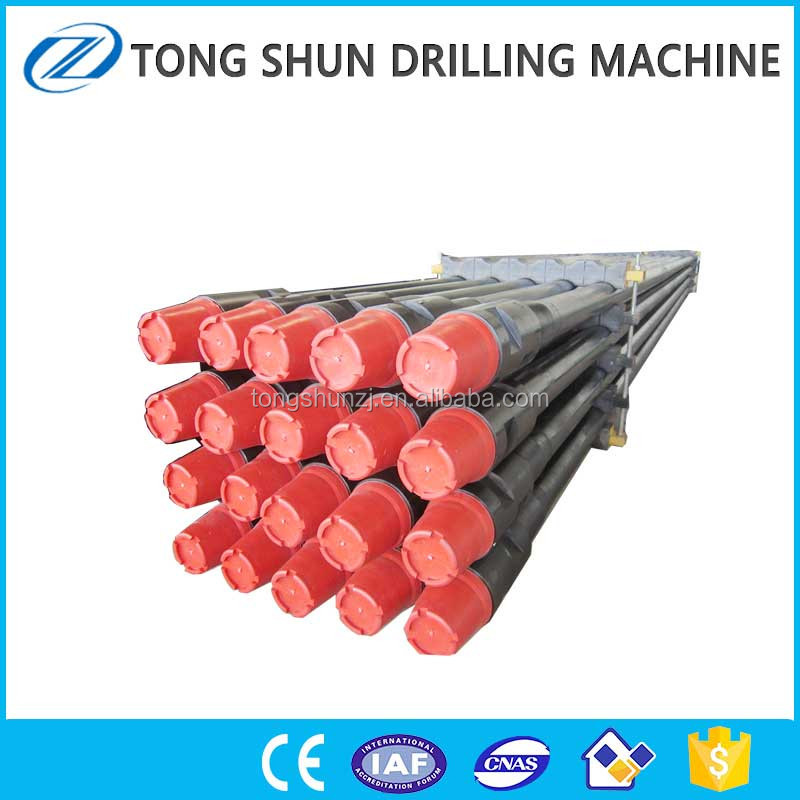 Carbon Seamless Steel Manufacturers API Thread Exploration Geological Water Well Drill Rod For Sale