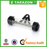 Motorcycle tax disc holder tube for street bike