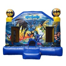 commercial grade batman inflatable bouncer jumper/ jumping bouncy castle/ moon bounce house factory price