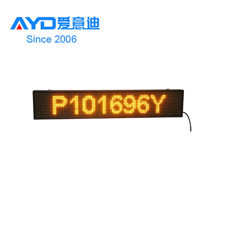 LED Module for Shopping Malls Made in China <strong>Amber</strong> Color LED Moving Sign