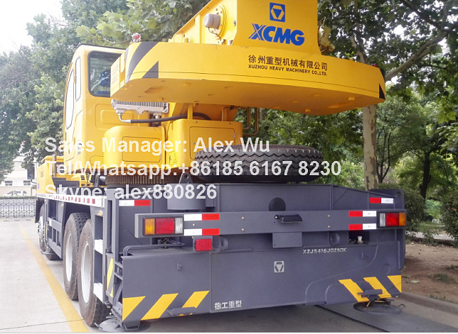 XCMG Xugong China brand 50 ton truck crane used QY50C mobile crane
