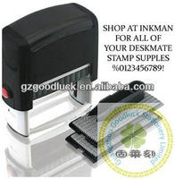 Greeting Card Message Stamps Set/DIY Self-inking Rubber Stamp Kit