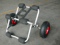 china lightweight aluminum folding trolley