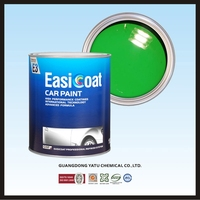 High performance EC-1K Basecoat, 1k silver color