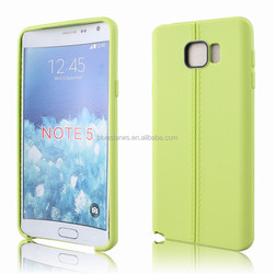 Leather Replacement Battery Rear Back Door Cover Case Lid Housing Case For Samsung Note 5