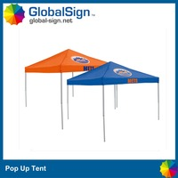 Super light duty commercial pop up canopy