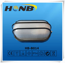 e27 aluminium 60w indoor bulkhead light